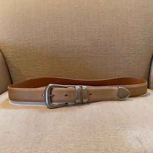 Guess Distressed Leather Belt